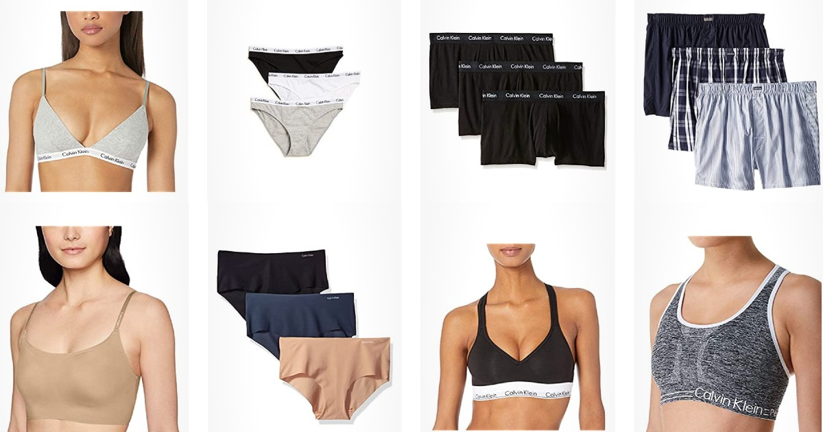 Save up to 52% on Select Underwear and Basics from Calvin Klein