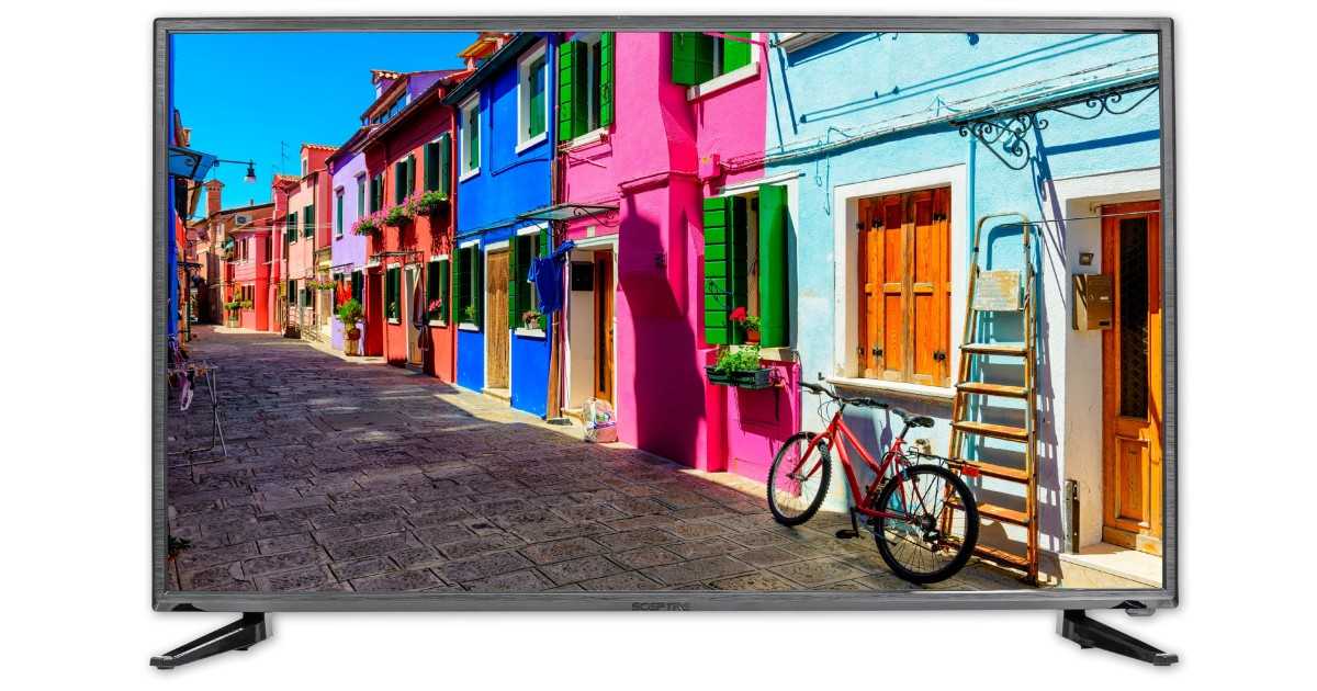 Sceptre 40-In 1080P LED TV ONLY $149.99 (Reg $300)