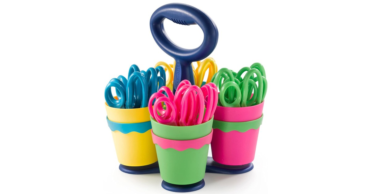 Westcott Kids Scissors 24-Pack with Caddy ONLY $13.93 at Amazon