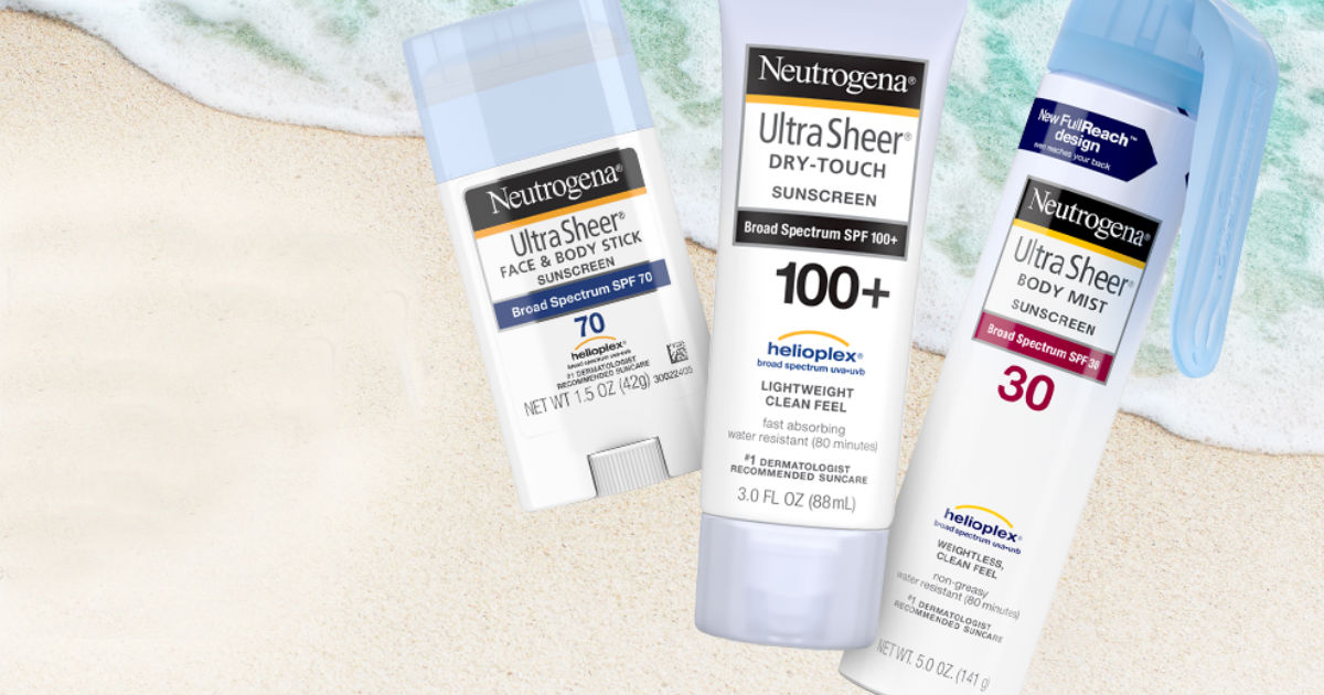 Neutrogena Suncare Coupon
