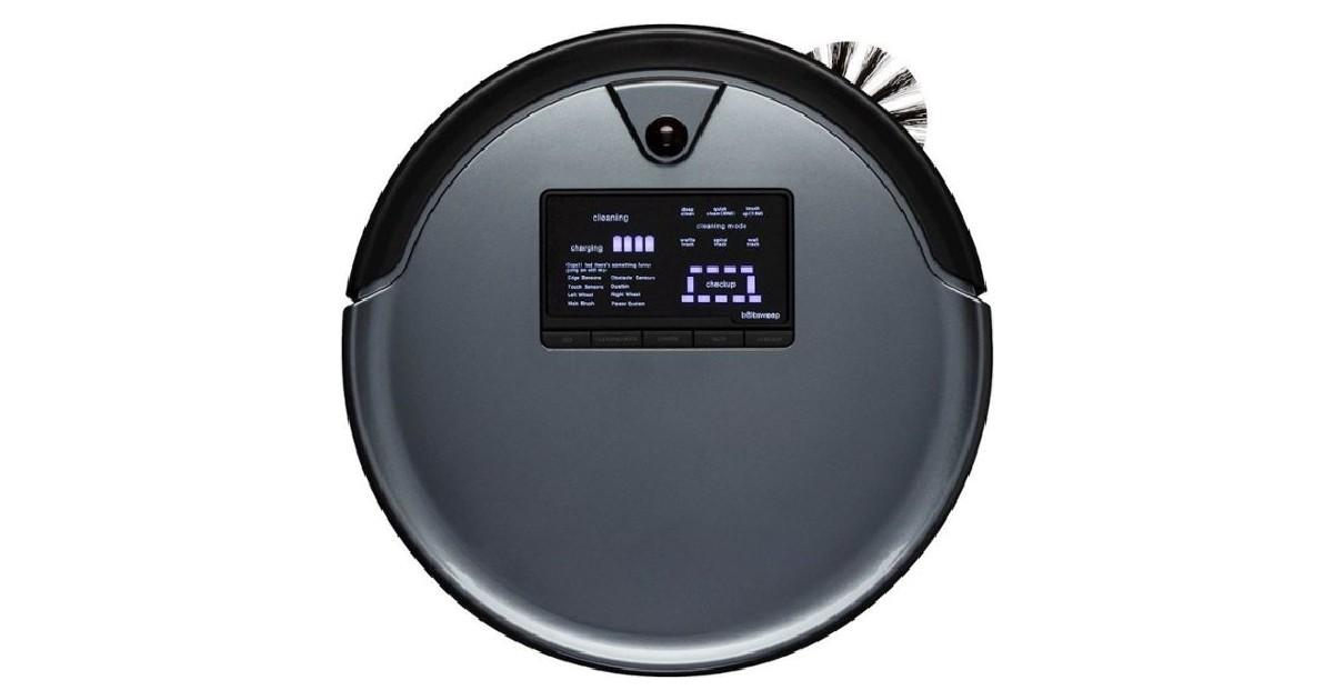bObsweep PetHair Plus Robot Vacuum ONLY $199.99 (Reg $900)