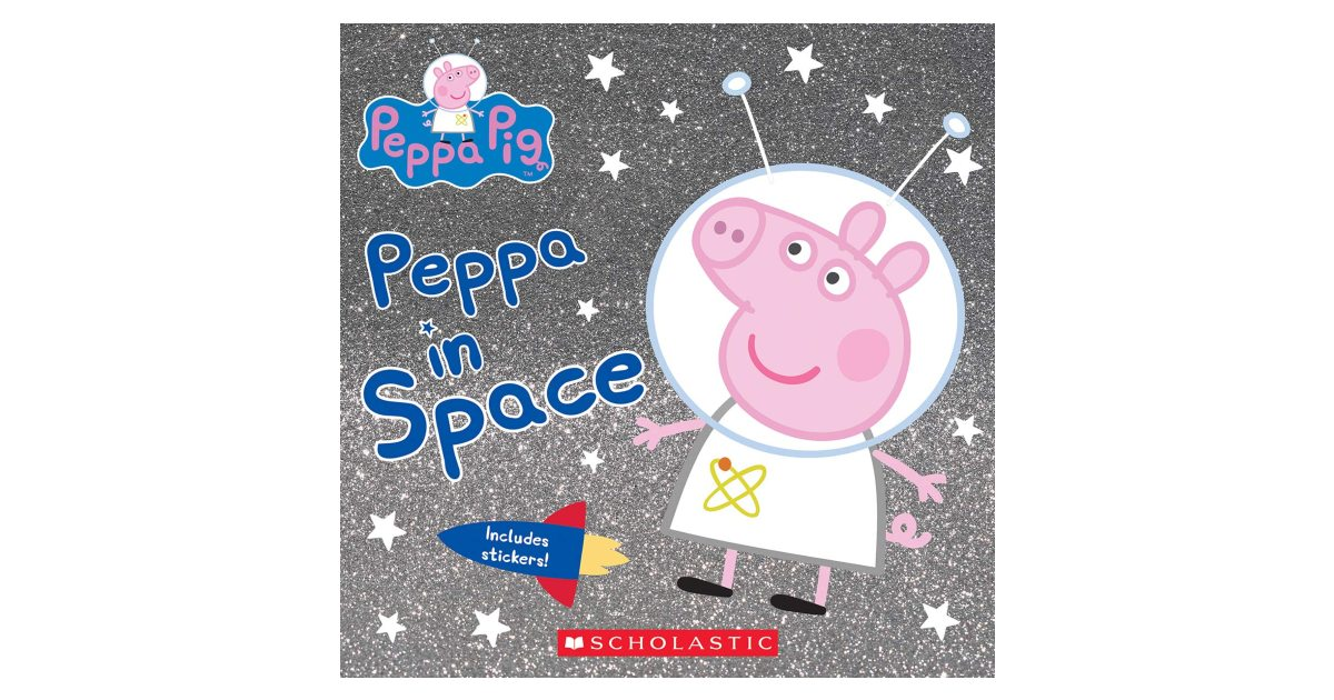 Peppa in Space Book ONLY $2.59 (Reg. $5)