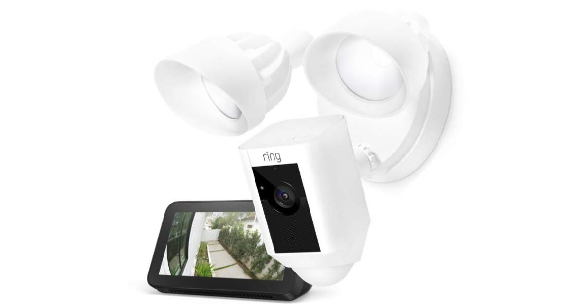 Ring Floodlight Camera w/ Echo Show 5 ONLY $199 (Reg $339)