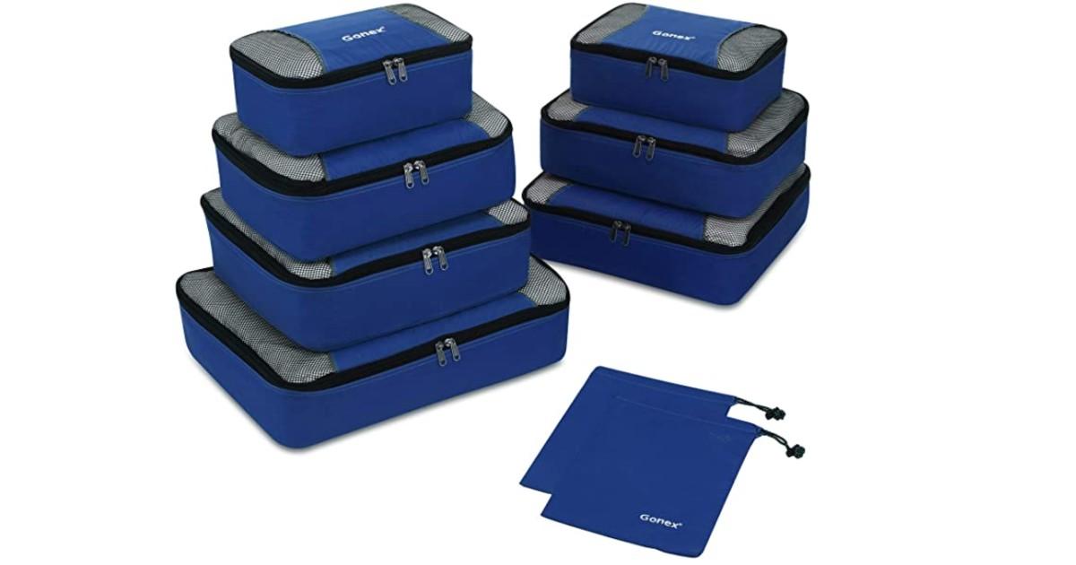 Travel Packing Cubes 9-Piece Set ONLY $19 (Reg $28)