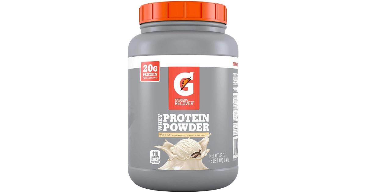 Gatorade Whey Protein Powder ONLY $27.69 Shipped (Reg $40)