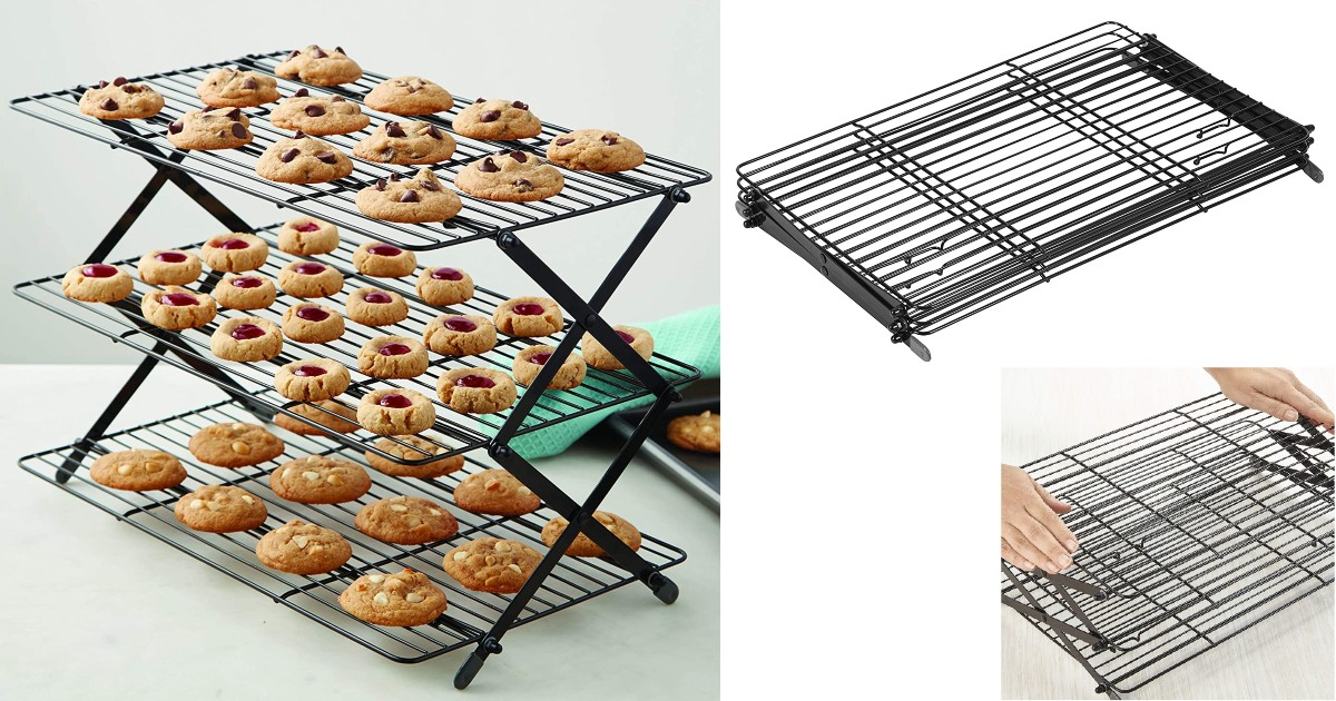 Wilton 3-Tier Collapsible Cooling Rack ONLY $13.57 (Reg $21)