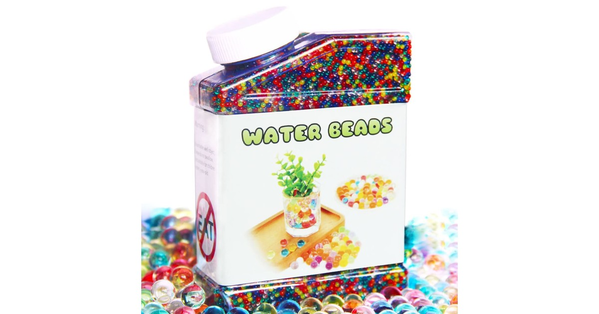 Water Beads Rainbow Mix ONLY $7.99 (Reg. $14)