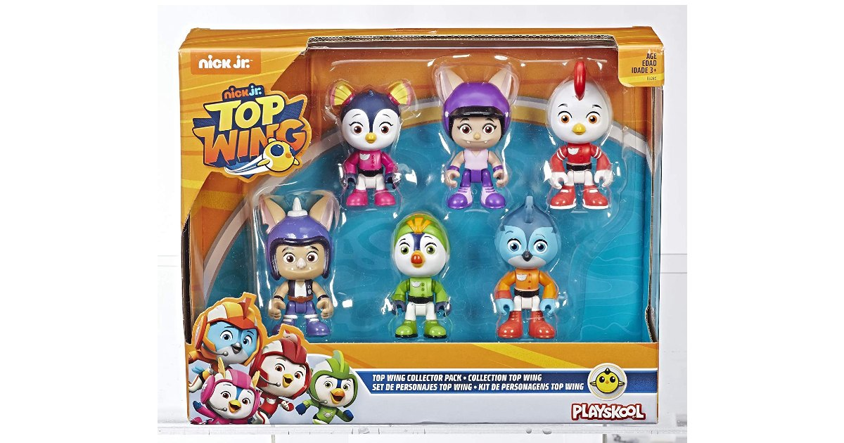 Top Wing 6-Character Collection Pack ONLY $7.75 (Reg. $25)
