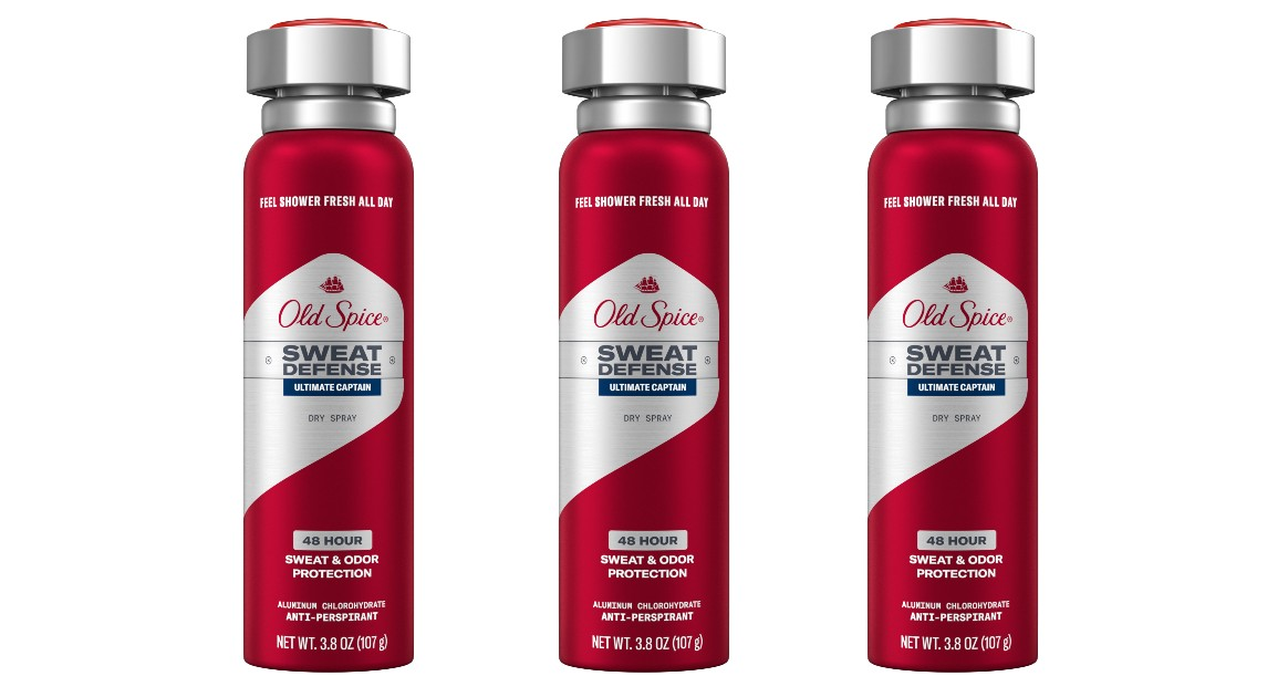 Old Spice Dry Spray Deodorant ONLY $0.87 at Target