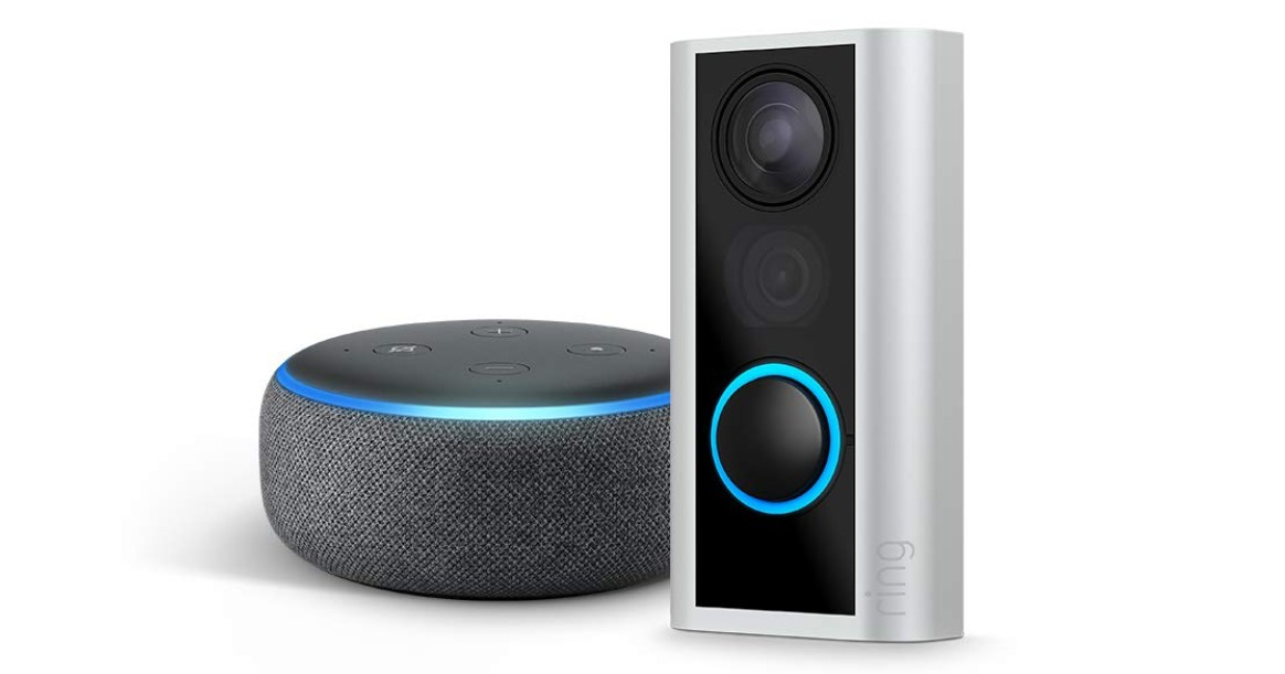 Ring Peephole Cam with Echo Dot ONLY $79.99 (Reg $180)