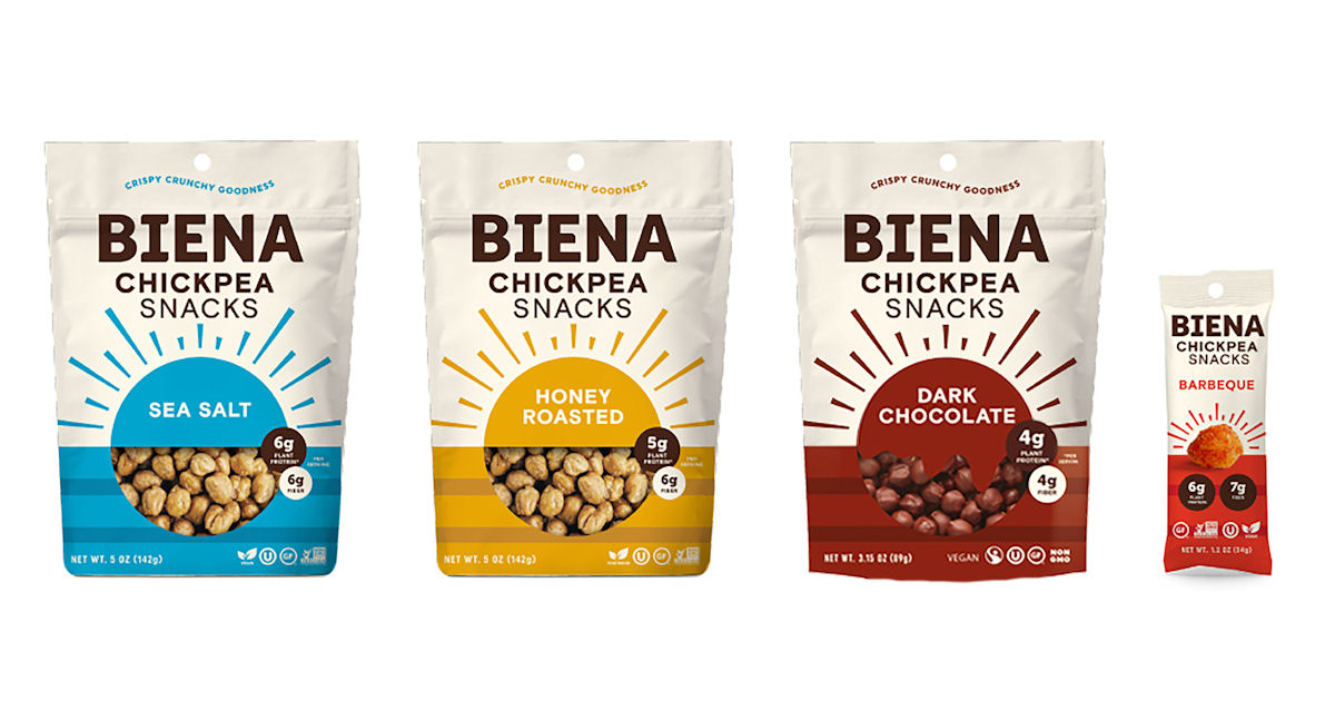 FREE Biena Chickpea Snacks at.
