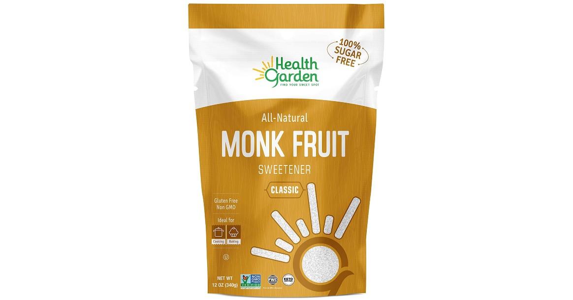 Health Garden Monk Fruit Sweetener ONLY $6.57 (Reg $11)
