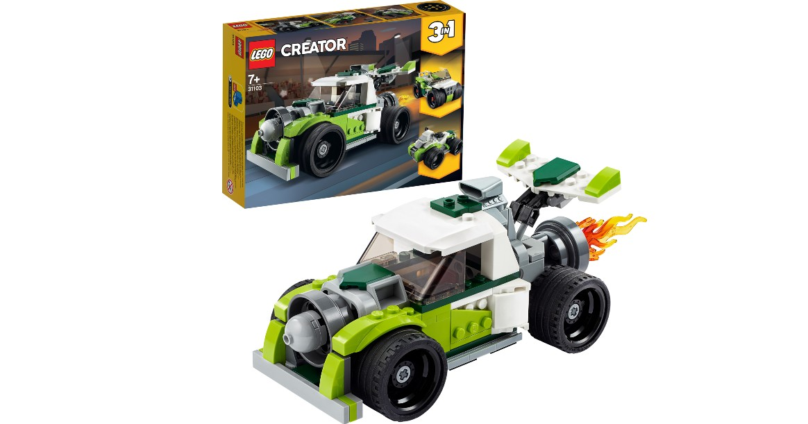 LEGO Creator 3in1 Rocket Truck...