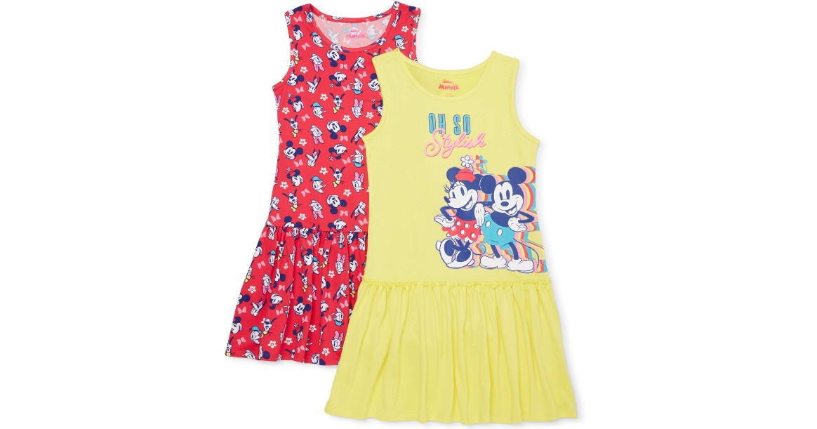 Disney Dresses 2-Pack From ONLY $9.50 at Walmart (Reg $13)