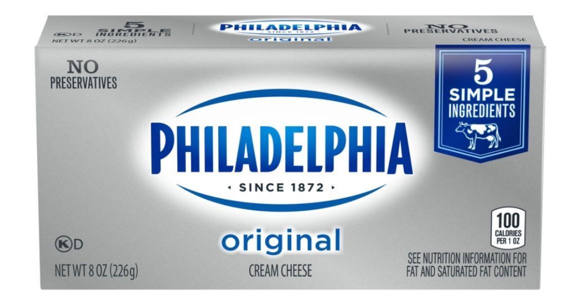 Philadelphia Cream Cheese ONLY...