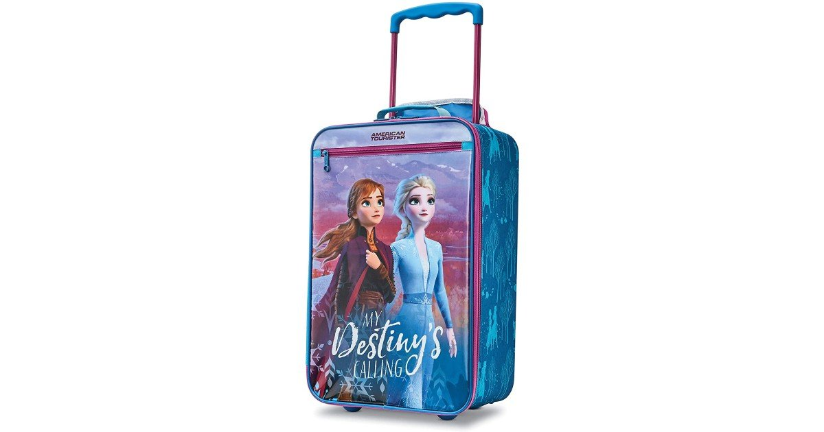 American Tourister Disney Frozen Luggage ONLY $22.50 (Reg. $50)