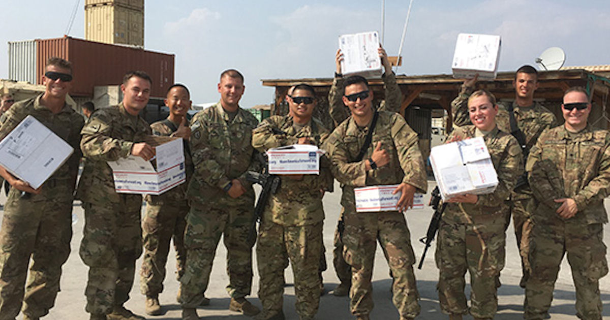 FREE Care Package for Troops