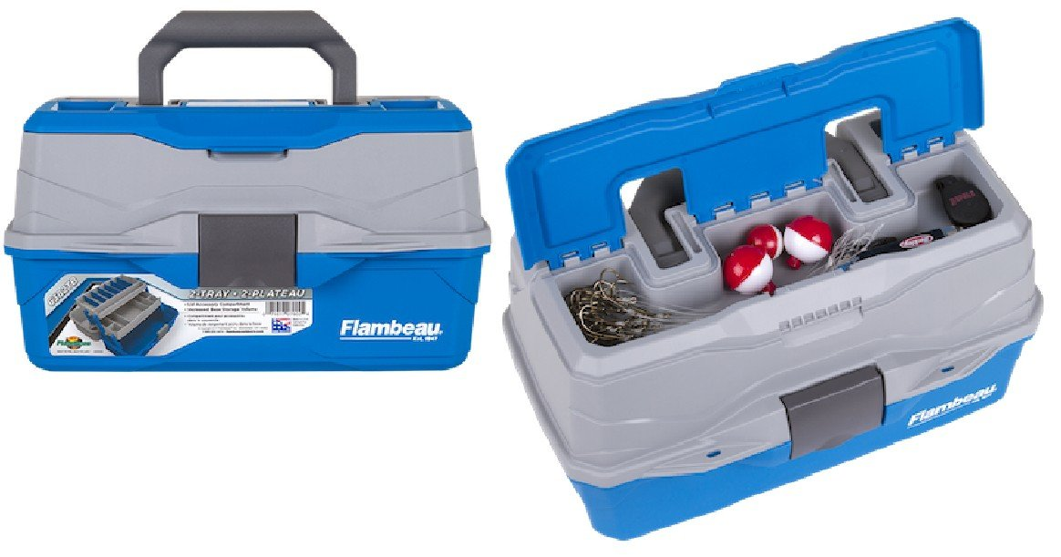 Flambeau Outdoors 2 Tray Tackle Box ONLY $10.67 (Reg $26)