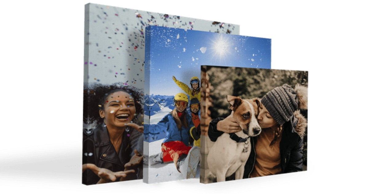 FREE 8x8, 12x12, or 11x14 Photo Canvas