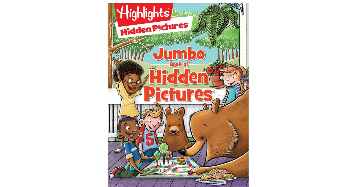 Highlights Book of Hidden Pictures on Amazon