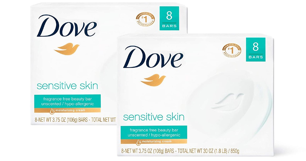 Dove Beauty Bar 16-Pack ONLY $11.19 Shipped at Amazon