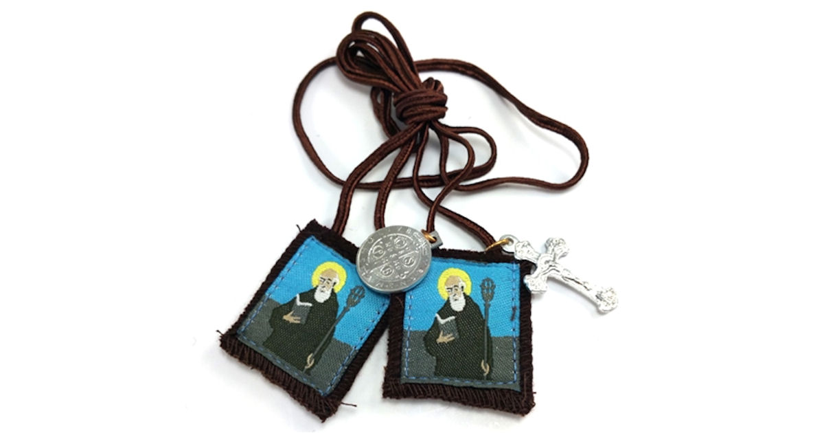 FREE St Benedict Scapular and.
