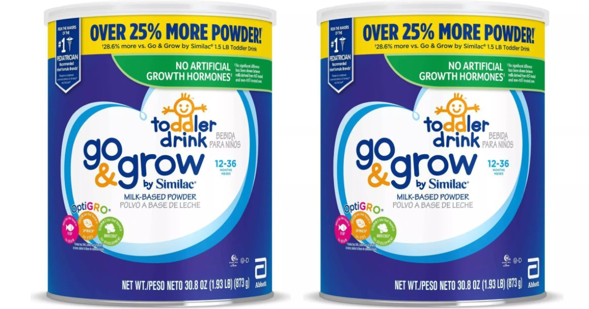 Similac Go & Grow Toddler Drink 30.8oz ONLY $16.99 at Target