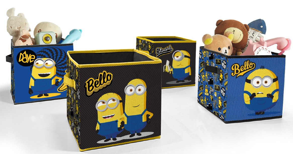 Universal Minions 2 Toy Storage Cubes ONLY $14.98 (Reg $25)