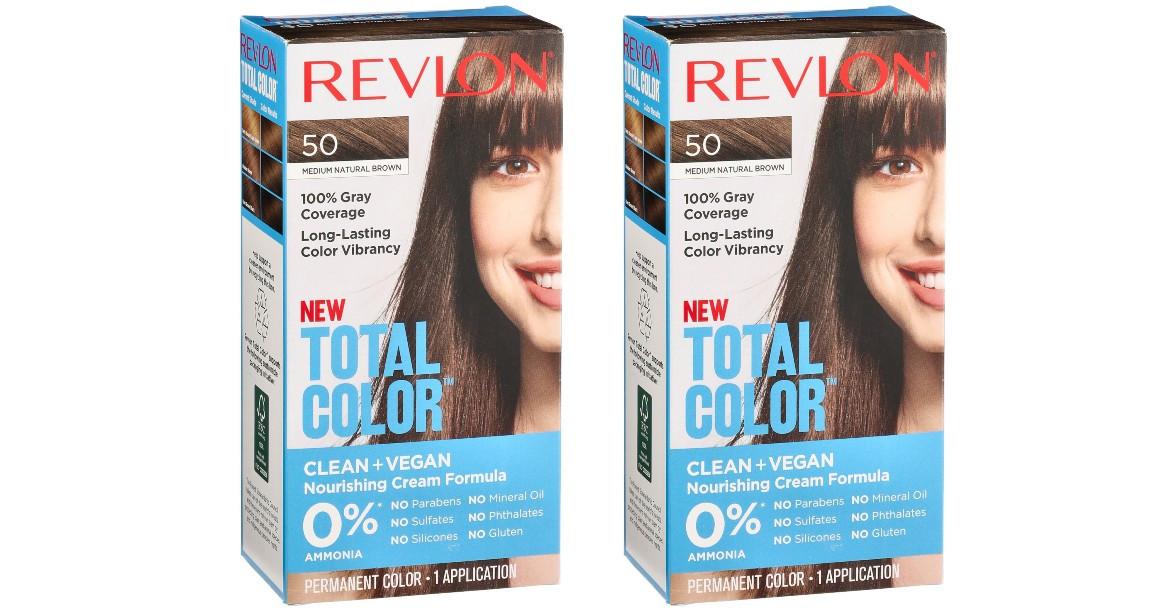 Revlon Total Color Hair Dye ON...