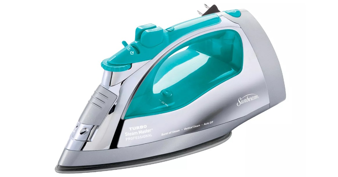 Sunbeam Steamaster Iron ONLY $17.09 at Target (Reg $30)