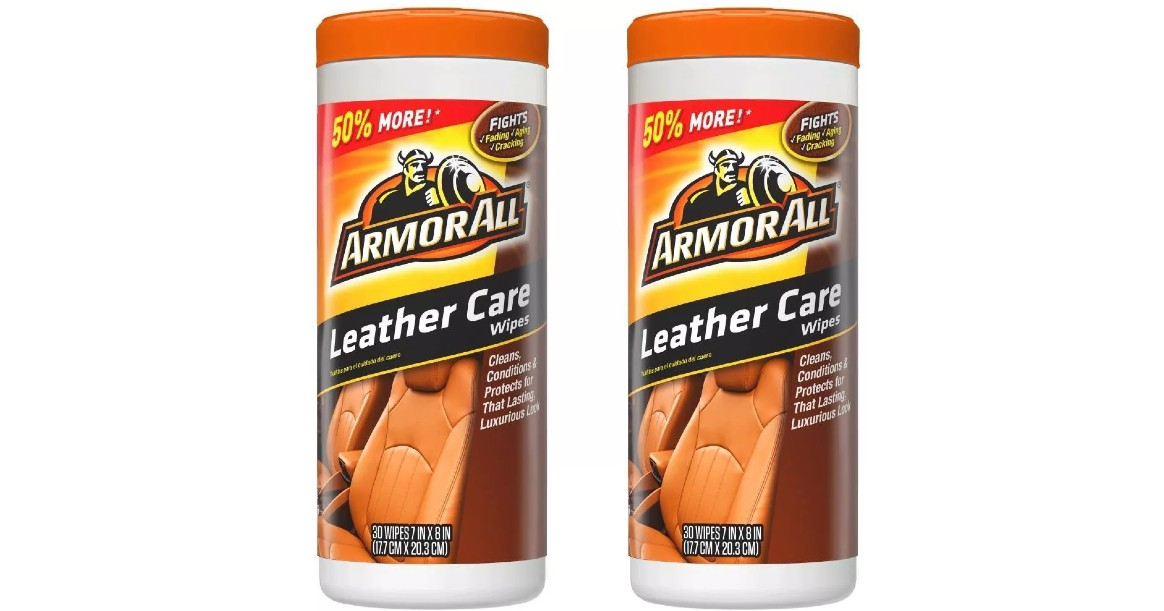 Armor All 30ct Leather Care Wi...