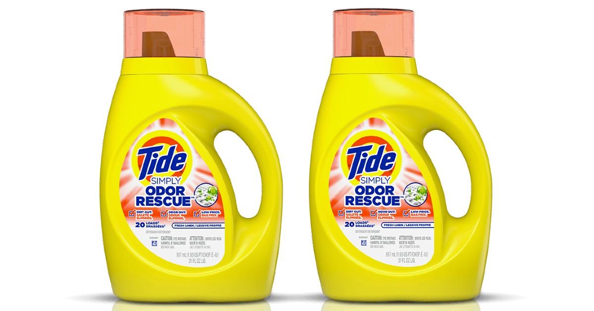 Tide Simply 20-Load Detergent ONLY $1.94 at CVS (Reg $6)