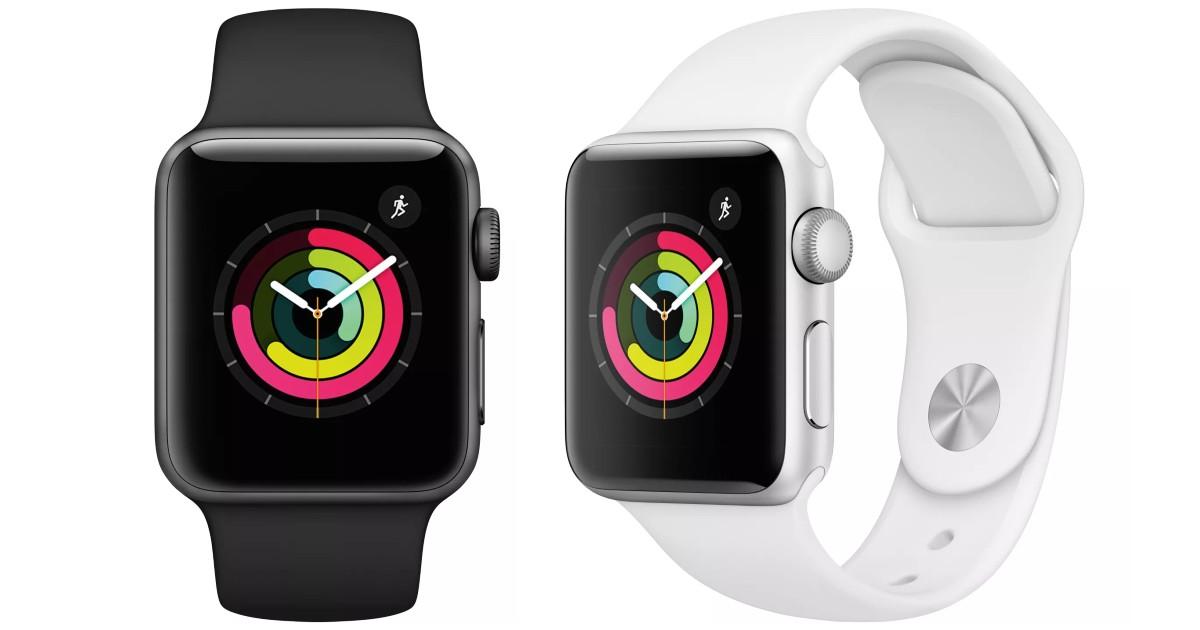 Apple Watch Series 3 GPS 38mm $161.49 at Target (Reg $200)