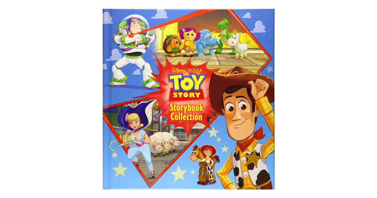Toy Story Storybook Collection Hardcover Book $6.90 (Reg. $17)