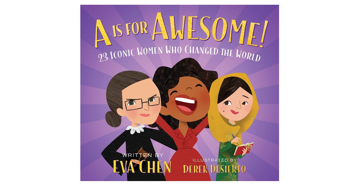 A Is for Awesome Board Book ONLY $3.89 (Reg. $10)