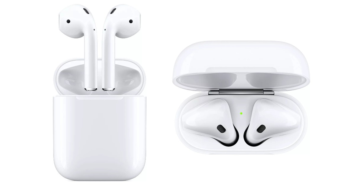 Apple AirPods with Wired Charging Case ONLY $132.99 (Reg $160)