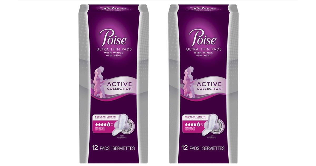 Poise Active Collection Pads ONLY $0.99 at Walgreens