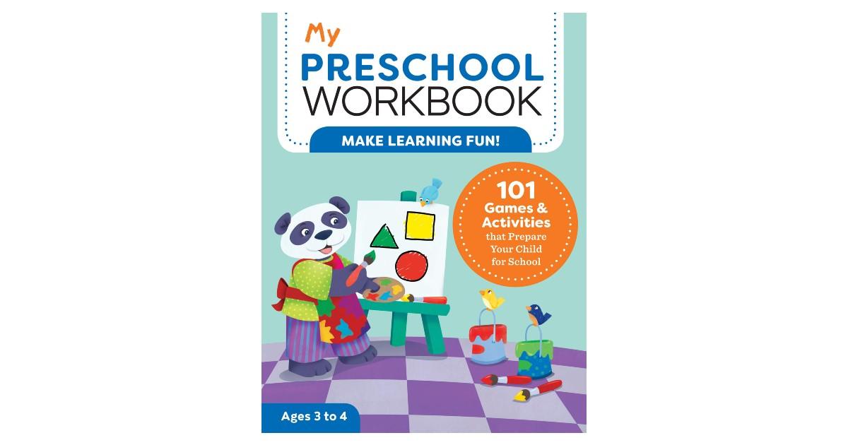 My Preschool Workbook ONLY $5.35 (Reg. $13)