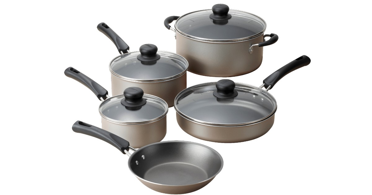 Tramontina 9-Pc Non-stick Cookware Set ONLY $19.88 (Reg $40)