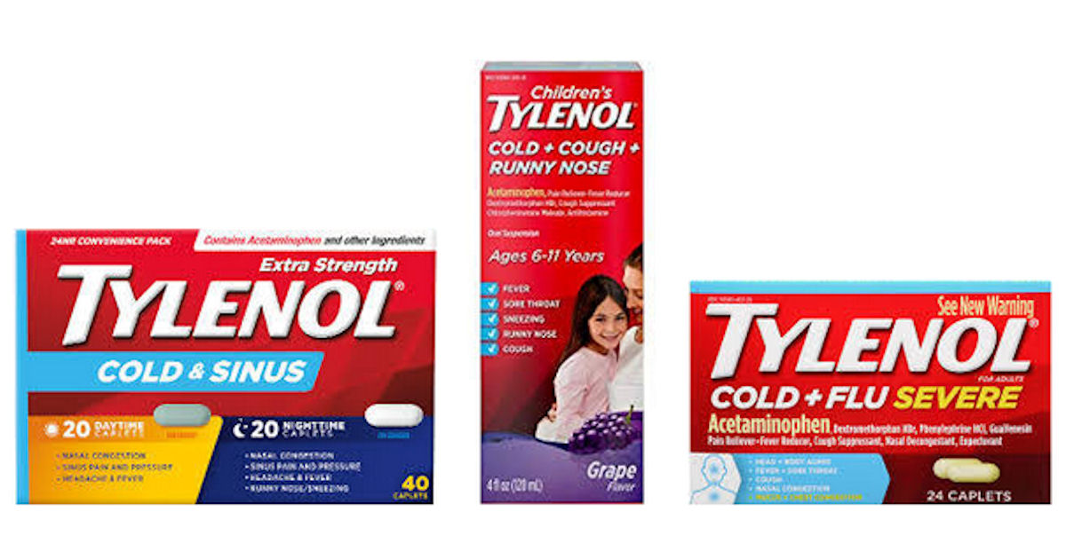 FREE Tylenol Products After Re...