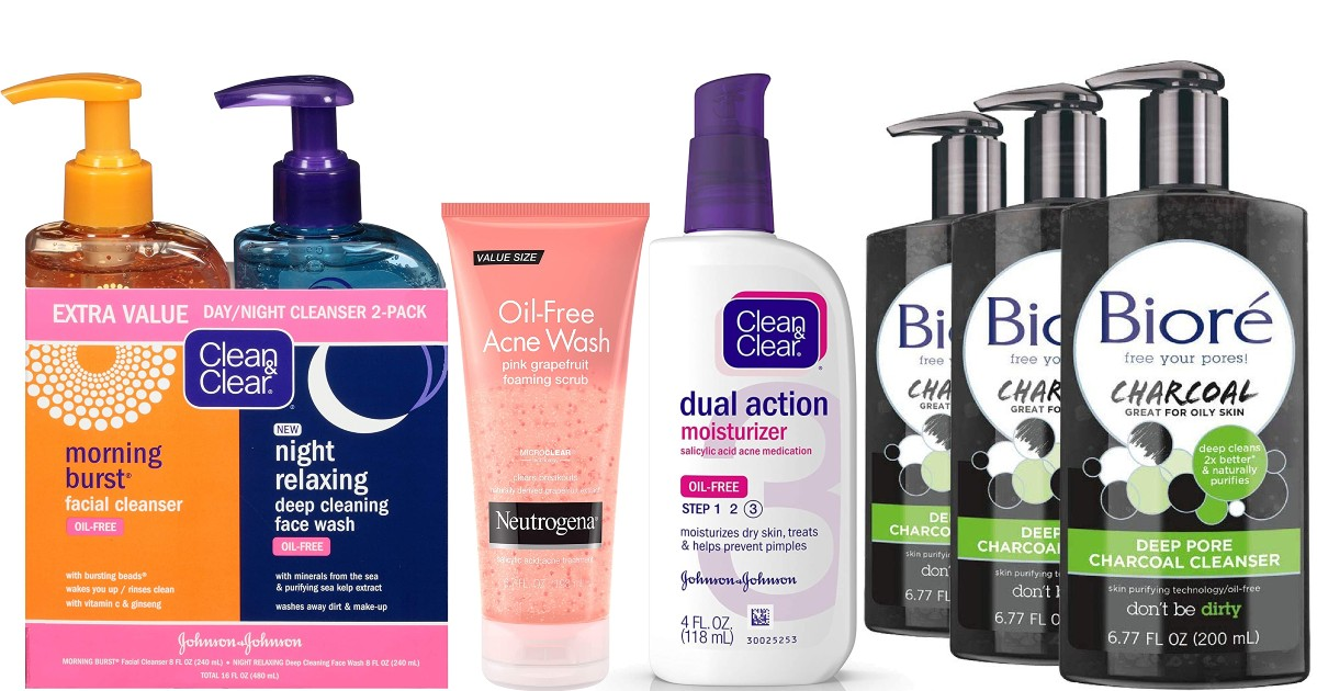 $5 Off 3 Skin Care Products on Amazon