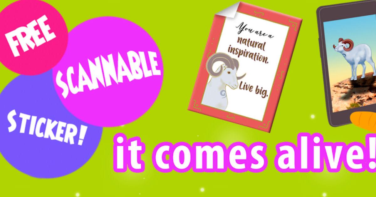 FREE Shaboost Scannable Sticke...