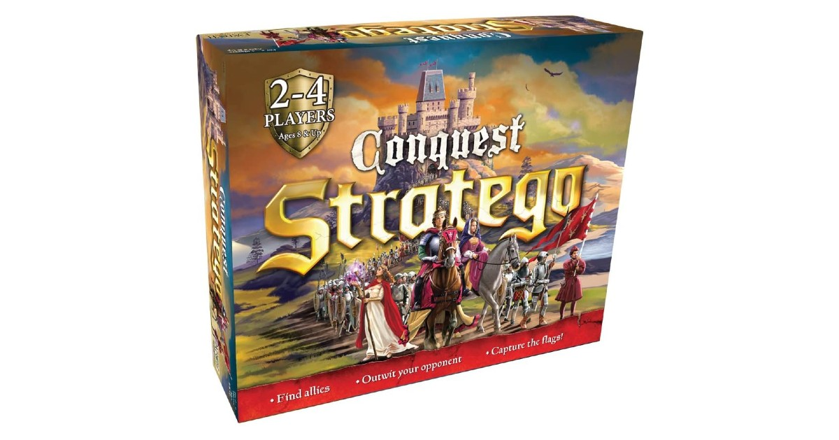 PlayMonster Stratego Conquest ONLY $16.90 (Reg. $50)