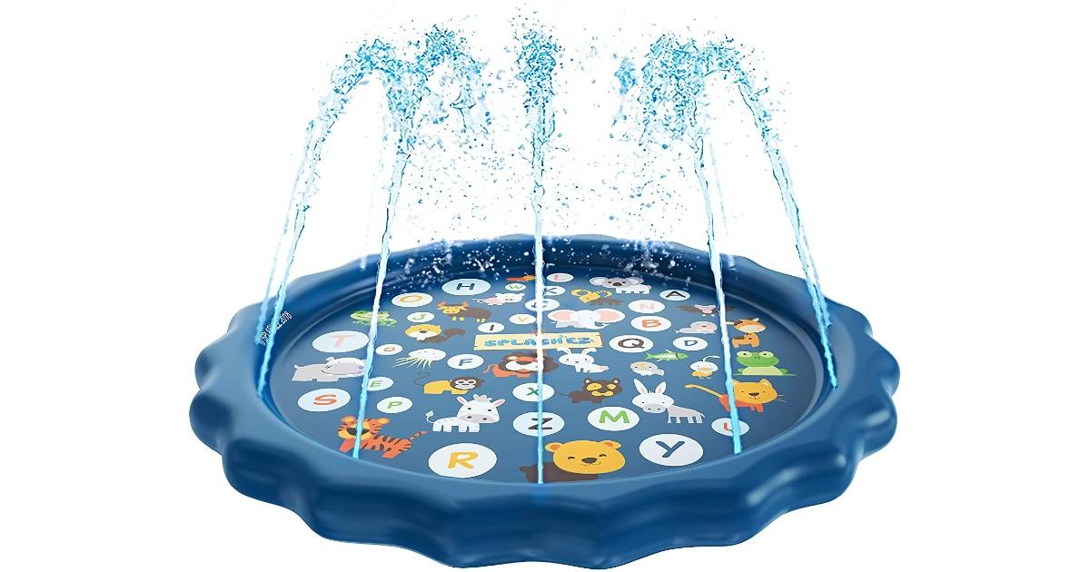 SplashEZ 3-in-1 Splash Pad for Kids ONLY $19.99 (Reg. $35)