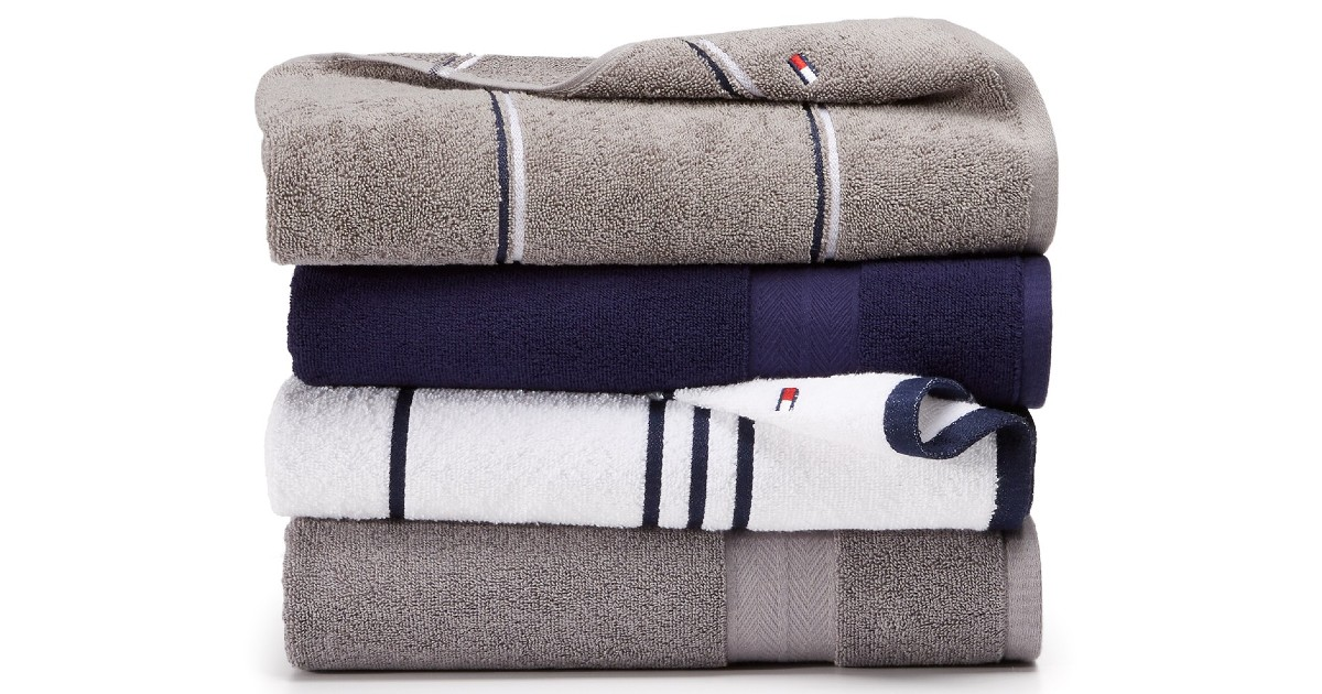 Tommy Hilfiger Bath Towels ONLY $4.99 at Macys (Reg $18)