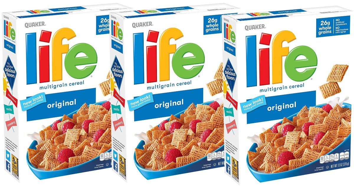 Life Breakfast Cereal Original 3-Pack ONLY $5.17 shipped