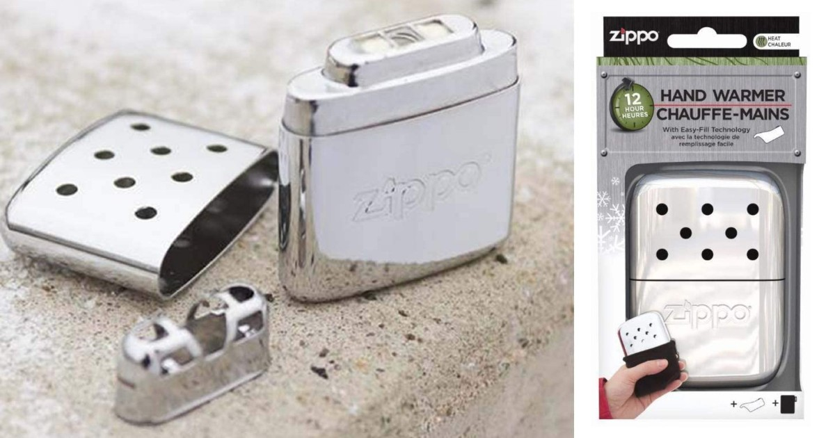 Zippo Refillable Hand Warmers ONLY $8.99 (Reg $22)