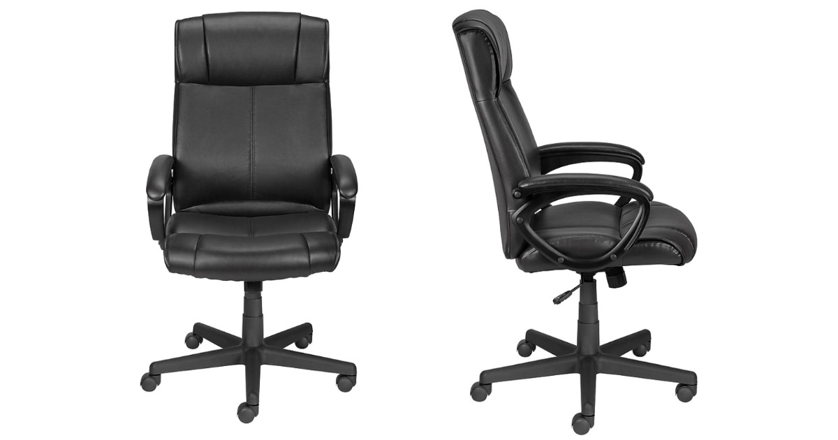 Faux Leather Desk Chair ONLY $79.99 Shipped (Reg $170)
