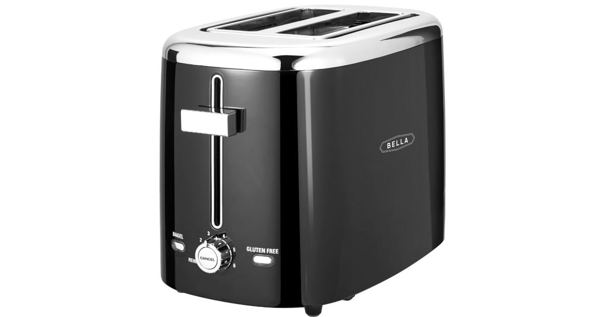 Bella 2-Slice Extra-Wide Slot Toaster $9.99 at Best Buy (Reg $20)