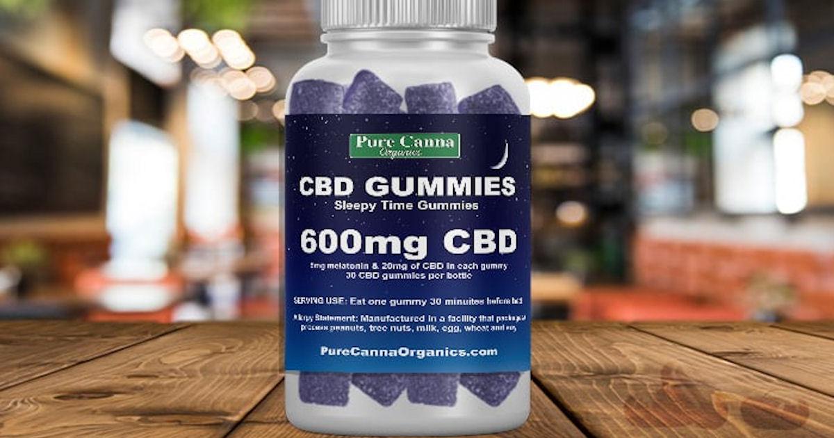 FREE Pure Canna Organic CBD Gu...